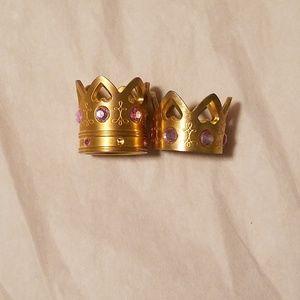 NWOT Vera Wang Princess EDP Bottle Top Rings